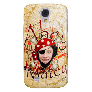 Ahoy Matey Pirate Samsung S4 Case