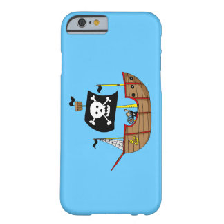 ahoy matey pirate ship barely there iPhone 6 case