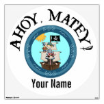 Ahoy Matey Pirate Ship Room Decals