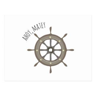 Ahoy Matey Postcards