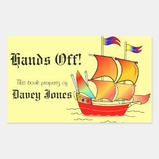 Ahoy, Matey! Rectangular Sticker