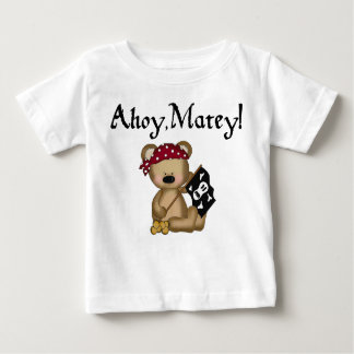 Ahoy Matey Teddy Bear Pirate Infant T-shirt