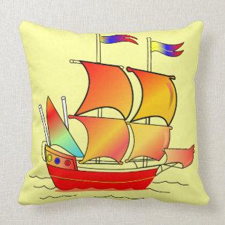 Ahoy, Matey! Throw Pillow
