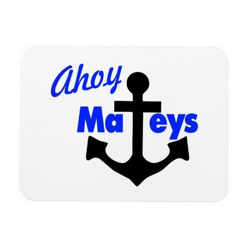 Ahoy Mateys con el ancla Imanes Flexibles