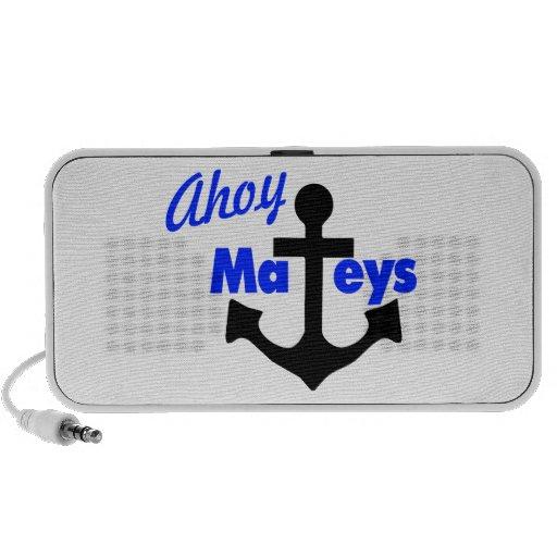 Ahoy Mateys con el ancla iPhone Altavoces