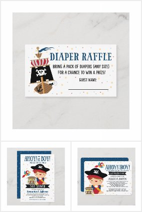Ahoy my hearties! Baby Pirate Collection