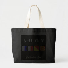 Ahoy Name Tote bag
