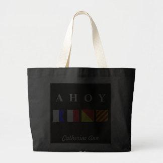 Ahoy Name Tote Tote Bag