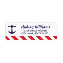 Ahoy! Nautical Address Labels
