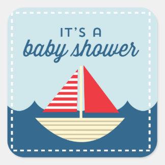 Ahoy! Nautical Sailboat Stickers