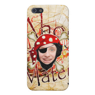Ahoy pirata afable iPhone 5 carcasas