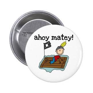 Ahoy pirata afable pin