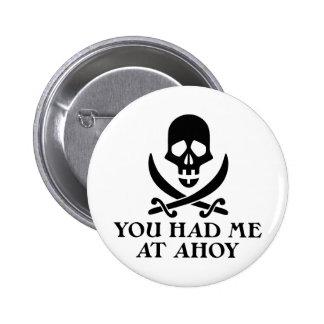 Ahoy pirata pins