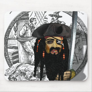 AHOY  ! pirate day Mouse Pad