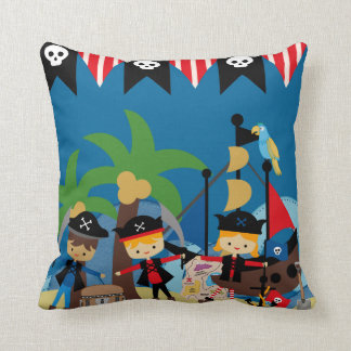 Ahoy Pirates MOJO Pillow