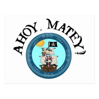 Ahoy postal afable