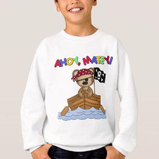 Ahoy regalo afable del pirata polera