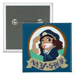 Ahoy Sailor! Button