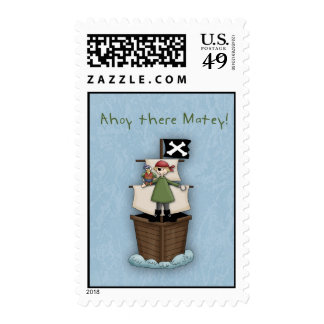 Ahoy there Matey! Postage Stamps