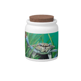 Ahoy There Meet The Under Water Sea Crab Candy Dish