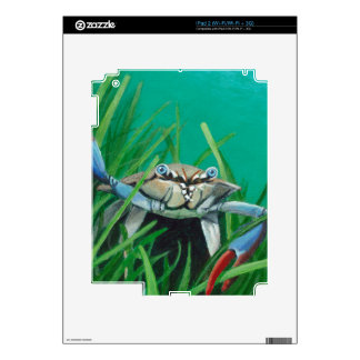 Ahoy There Meet The Under Water Sea Crab Decal For The iPad 2