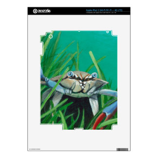 Ahoy There Meet The Under Water Sea Crab iPad 3 Skin