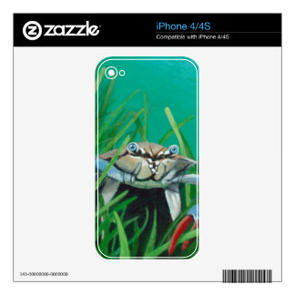 Ahoy There Meet The Under Water Sea Crab iPhone 4S Skins