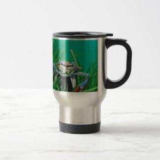 Ahoy There Meet The Under Water Sea Crab Travel Mug