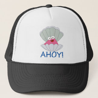 AHOY TRUCKER HAT
