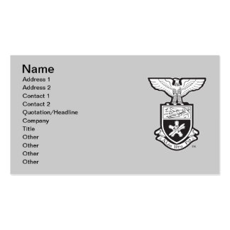 AHP Crest - B&W Double-Sided Standard Business Cards (Pack Of 100)