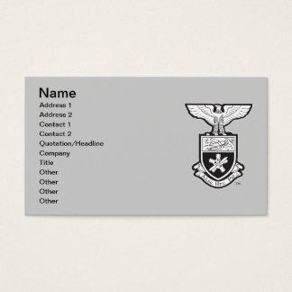 AHP Crest - B&W Business Card