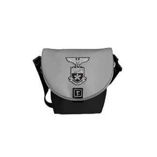 AHP Crest - B&W Courier Bag