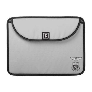 AHP Crest - B&W Sleeve For MacBooks