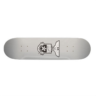 AHP Crest - B&W Skate Boards