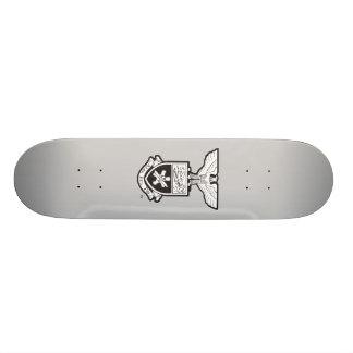 AHP Crest - B&W Skateboard Deck