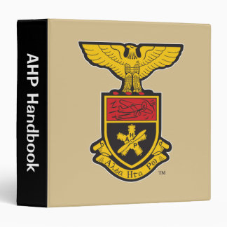 AHP Crest - Color Vinyl Binder