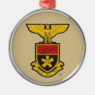 AHP Crest - Color Metal Ornament