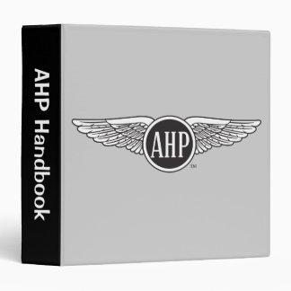 AHP Wings - B&W 3 Ring Binder