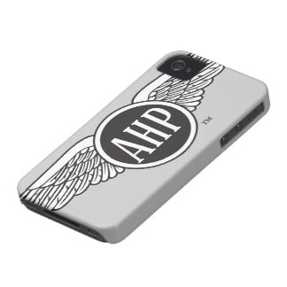 AHP Wings - B&W iPhone 4 Case-Mate Cases