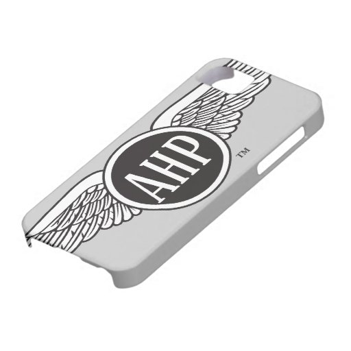 AHP Wings - B&W iPhone 5 Cover