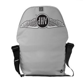 AHP Wings - B&W Messenger Bag