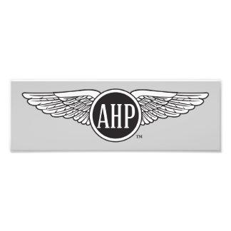 AHP Wings - B&W Photo Print