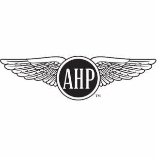 AHP Wings - B&W Standing Photo Sculpture