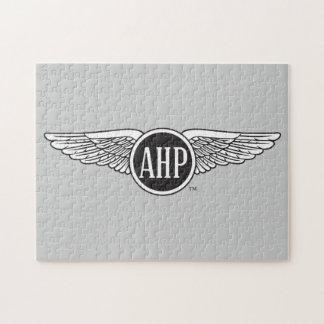 AHP Wings - B&W Jigsaw Puzzle