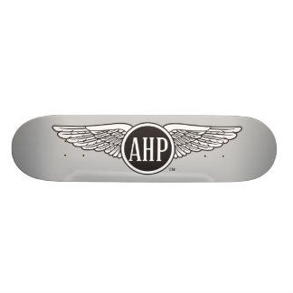 AHP Wings - B&W Skateboard Deck