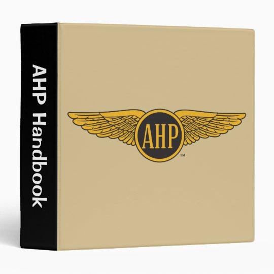 AHP Wings - Color 3 Ring Binder