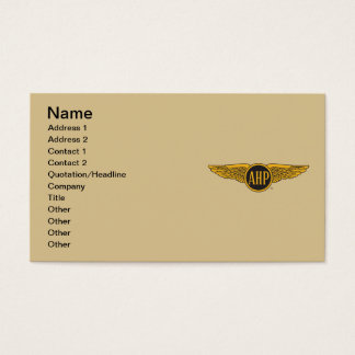 AHP Wings - Color Business Card