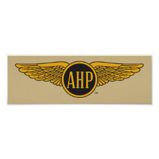 AHP Wings - Color Poster