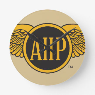 AHP Wings - Color Round Clock
