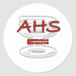 AHS Abbeville 2010 - Go WILDCATS! Sticker